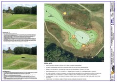 preparation of golf course documents